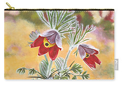 Granny Flowers Carry-all Pouch