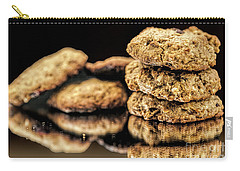 Granola Cookies Carry-all Pouch by Shirley Mangini