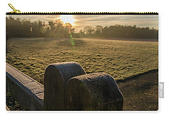 Grantchester Sunrise Carry-all Pouch by David Warrington