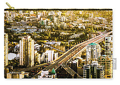 Granville Street Bridge Vancouver British Columbia Carry-all Pouch
