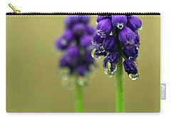 Grape Hyacinth Carry-all Pouch by Joseph Skompski