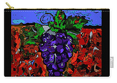 Grape Jazz Digital Carry-all Pouch
