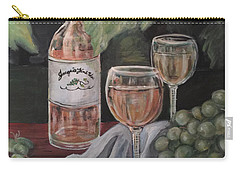 Grape Leaves And Wine Carry-all Pouch