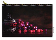 Grape Raspberry Carry-all Pouch by Tom Mc Nemar
