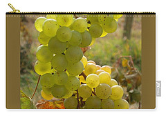 Grape Spiral Carry-all Pouch by Patricia Overmoyer