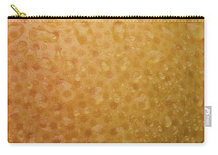 Grapefruit Skin Carry-all Pouch by Steve Gadomski