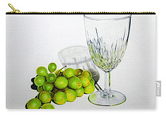 Grapes And Crystal Carry-all Pouch