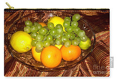 Grapes, Lemons, Mandarins And Lime  Carry-all Pouch