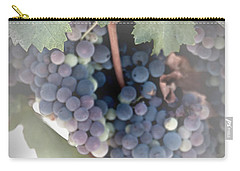 Grapes On The Vine I Carry-all Pouch by Sherry Hallemeier