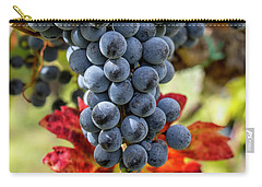 Carry-all Pouch featuring the photograph Grapevine by Jean Haynes