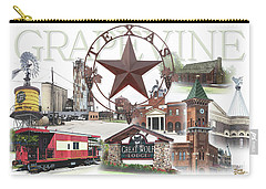 Grapevine Texas Carry-all Pouch