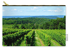 Grapevines On Old Mission Peninsula - Traverse City Michigan Carry-all Pouch