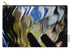 Carry-all Pouch featuring the photograph Grasping At Curves by Susan Capuano