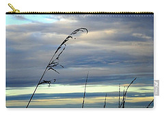 Grass Against Abstract Sky Carry-all Pouch