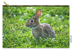 Carry-all Pouch featuring the photograph Grass Hoppers by Bill Pevlor