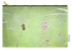 Grasses And Blooms Carry-all Pouch