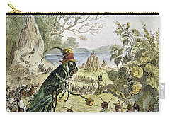 Grasshopper And Ant Carry-all Pouch by Granger