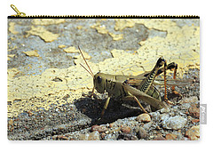 Grasshopper Laying Eggs Carry-all Pouch