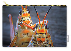 Grasshoppers In Love Carry-all Pouch