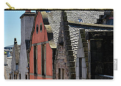 Carry-all Pouch featuring the photograph Grassmarket In Edinburgh, Scotland by Jeremy Lavender Photography
