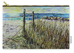 Grassy Beach Post Morning 1 Carry-all Pouch