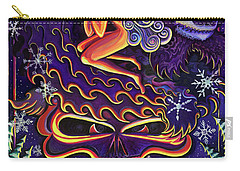 Grateful Nights Carry-all Pouch by David Sockrider