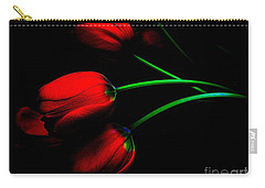 Carry-all Pouch featuring the photograph Gratitude by Elfriede Fulda