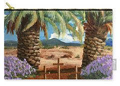 Carry-all Pouch featuring the painting Gratitude Reminder  by Bonnie Heather