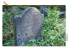 Grave Of Mary Hall Carry-all Pouch