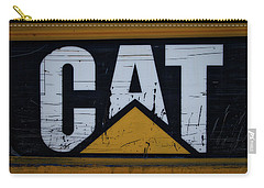 Gravel Pit Cat Signage Hydraulic Excavator Carry-all Pouch