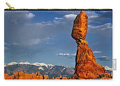 Gravity Defying Balanced Rock, Arches National Park, Utah Carry-all Pouch