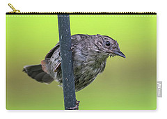 Gray Catbird After The Rain #2 Carry-all Pouch