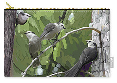 Gray Jays Group Carry-all Pouch