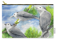 Gray Jays Trio Carry-all Pouch