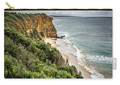 Carry-all Pouch featuring the photograph Gray Skies by Perry Webster