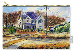 Grayson County Farmhouse Carry-all Pouch by Ron Stephens