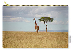 Grazing Giraffe Carry-all Pouch