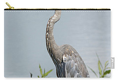 Great Blue Heron #2 Carry-all Pouch