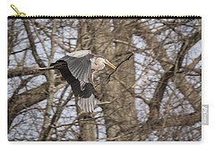 Great Blue Heron 2014-2 Carry-all Pouch
