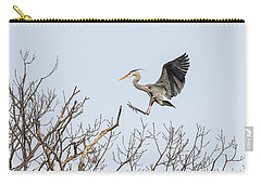 Great Blue Heron 2014-4 Carry-all Pouch