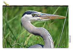 Great Blue Heron Close-up Carry-all Pouch