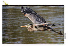 Great Blue Heron In Stratford Carry-all Pouch