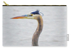 Great Blue Heron Of Virginia Carry-all Pouch