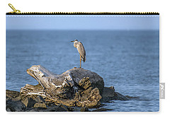 Great Blue Heron On Chesapeake Bay Carry-all Pouch