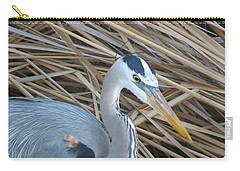 Great Blue Heron On Spi Carry-all Pouch