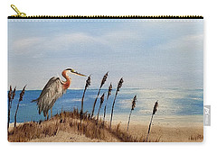 Great Blue Heron - Outer Banks Carry-all Pouch
