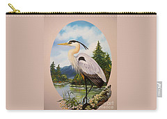 Flying Lamb Productions                 Great Blue Heron Carry-all Pouch