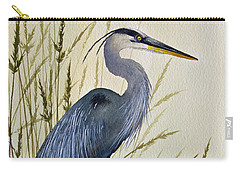 Great Blue Heron Splendor Carry-all Pouch