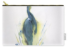 Blue Heron Turning Carry-all Pouch