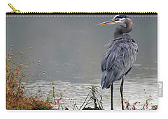 Great Blue Heron Landscape Carry-all Pouch